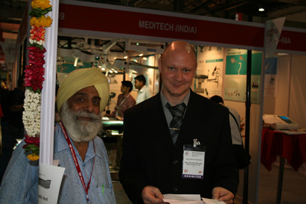 AMA at Medical Fair India, Mumbai